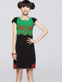 11.3#Wholesale embroidery summer dresses  Only$11.3    #tops #dress #skirt #shirts #pants