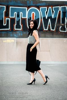 Dresscode of the day : sophisticated culotte look