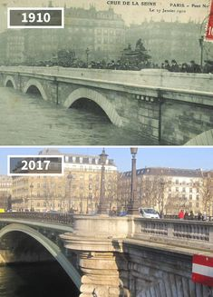 Before & After Pics Showing How The World Has Changed Over Time Then And Now Pictures, Before And After Pictures, Old Pictures, Old Photos, Conservation Architecture, Old Paris, Paris Paris, Paris France, Photo Voyage