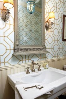 Trellis wallpaper is traditional and timeless, butwas becomingvery ho-humuntil a certain bold pattern took us by storm. The KW Imperial ...