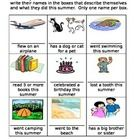 This is an activity that your students can do at the beginning of the year to get to know each other....