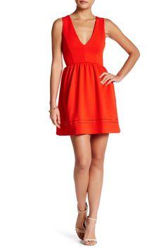 V-Neck Skater Dress by dee elle on @HauteLook