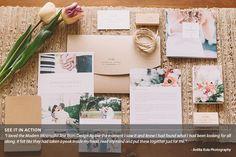 Wedding Welcome Packet: Modern Minimalist Edition - Design Aglow - 7 Trendy Wedding, Wedding Gifts, Planner Brands, Welcome Packet, Flyer Printing, Wedding Welcome, Corporate Gifts, Wedding Designs, Event Planning