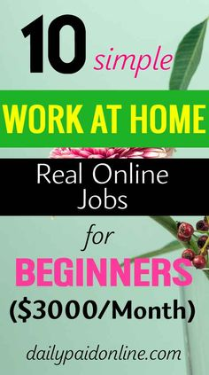Legit Work From Home, Work From Home Jobs, Earn Money From Home, Way To Make Money, Real Online Jobs, Online Work, Transcription Jobs For Beginners, Night Jobs, Apps That Pay