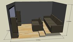 small cinema room - Google Search