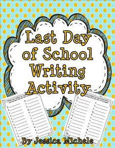 This is a {FREE} one page writing activity that will really get your students thinking about what they learned in your classroom all year long!