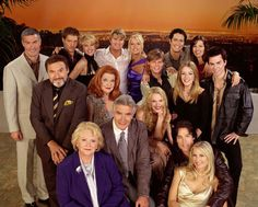 The Bold and the Beautiful (often referred to as B&B ) is an American television soap opera created by William J. Bell and Lee Phillip Bell for CBS. It premiered on March 23, 1987 as a sister show to the Bells' other soap opera The Young and the Restless.The program features an ensemble cast , headed by its longest-serving actors John McCook as Eric Forrester and Katherine Kelly Lang as Brooke Logan .