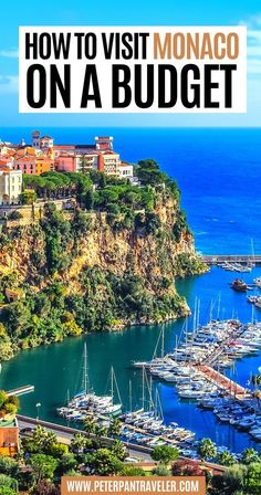 How to Visit Monaco on a Budget | Planning a trip to Monaco? Looking for advice on where to stay, where to eat and what to do? Here is an insider guide on what you can and should be doing in Monaco all on a budget. | monaco on a budget | budget travel europe | budget travel destinations europe | cheap europe destinations | travel on a budget destinations europe | monaco budget travel | monaco cheap | monaco budget | monaco travel | #budgettravel #monaco #europe #travel Travel Around Europe, Europe Travel Guide, Travel Guides, Europe Budget, Travel Destinations, Travel Hacks, Budget Travel, European Vacation, European Travel