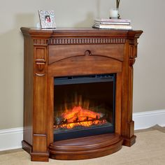 Found it at Wayfair - Thompson Electric Fireplace | FIREPLACES ...