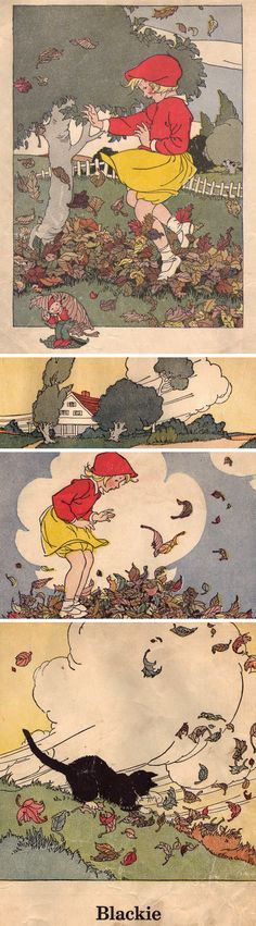 Marguerite Davis Illustrations. Reminds me of  Little Sallie Mandy illustrated by Bess Goe Willis...