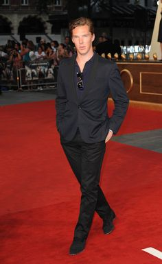 The King of the red carpet. Ben at Anna Karenina London Premiere on 4th September 2012
