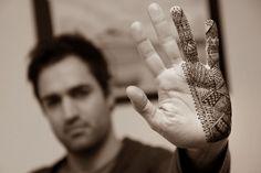 Moroccan henna hand design by Alliebee Henna