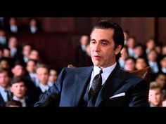 """SCENT OF A WOMAN - The 6th entry in our """"All Time Great Movie Scenes Collection.""""  Sure Al Pacino is overacting...sure this scene is a bit melodramatic...but that's why it's so great!   Good old fashioned film making at it's best; and a fantastically realized monologue."""