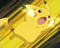 Pikachu Thunderbolt Gif