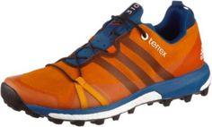 adidas Terrex Agravic Mountain Running Schuhe Herren orange/blau -