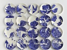 Molly Hatch Delft Blue Dishes