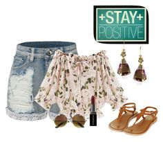 """""""Untitled #3030"""" by empathetic ❤ liked on Polyvore featuring LE3NO and Smashbox"""