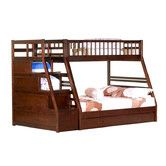 Found it at Wayfair - Cordova Twin over Full Convertible Toddler Customizable Bedroom Set