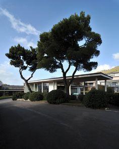 Luigi Cosenza, Pietro Porcinai, Alessio Guarino · Stabilimento Olivetti