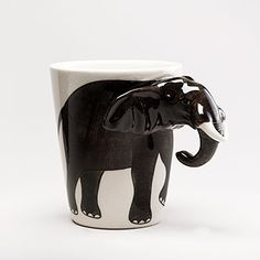 Elephant Mug | World Market. I need one of these!