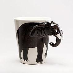 elephant mug ....world market!!!