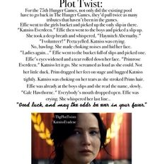 Hunger games plot twist