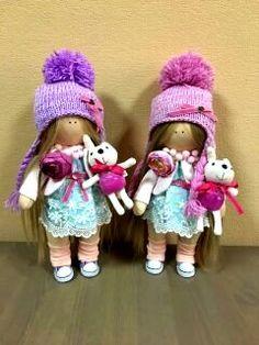 Ни минуты покоя: Кукла Снежка своими руками