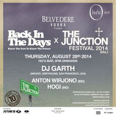 Back In The Dats x THE JUNCTION Festival 2014 BALI