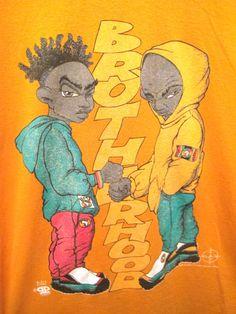 Vintage 1992 Afrocentric Hip Hop T shirt Soft and by kokorokoko, $28.00