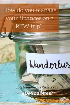 What are some tips and tricks you have for managing your finances while on the road?