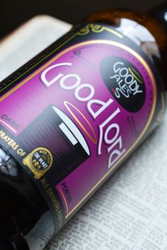 Good Lord from the Goody Ales Brewery - Sand Creative
