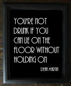 Printable Dean Martin Drunk Quote Sign - Wedding, Reception, Roaring 20s, Great Gatsby Party, Bar, DIY Instant Download Typography Print