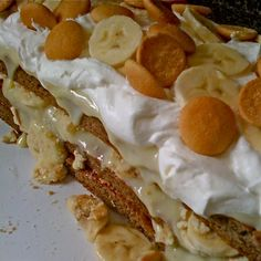 Banana Pudding Cake Recipe cakepins.com