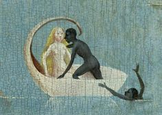 Hieronymus Bosch, The Garden of Earthly Delights (detail) Hieronymus Bosch, Medieval Art, Renaissance Art, Images Esthétiques, Art Roman, Jan Van Eyck, Garden Of Earthly Delights, Dutch Painters, Ancient Art