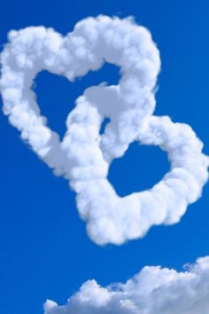 Clouds in love.