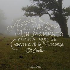 A veces no conoces el verdadero #valor de un #momento hasta que se convierte en…