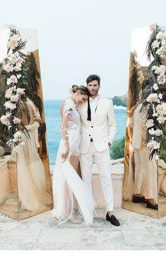 Extravagant Destination Wedding at Mykonos Wedding Rentals, Elope Wedding, Wedding Shoot, Chic Wedding, Wedding Vendors, Wedding Couples, Wedding Blog, Wedding Styles, Mykonos