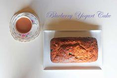 Blueberry Yogurt Cake - The Veggie Mama