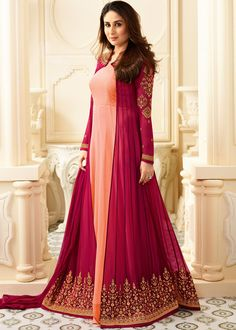 ✓ Buy the latest designer Anarkali suits at Lashkaraa, with a variety of long Anarkali suits, party wear & Anarkali dresses! Long Anarkali, Anarkali Dress, Anarkali Suits, Pakistani Dresses, Indian Dresses, Indian Outfits, Churidar Suits, Lehenga Saree, Gown Dress