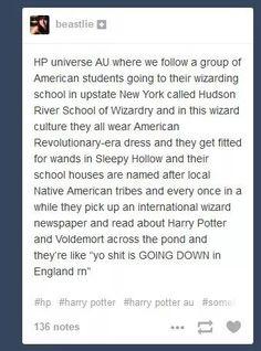 American wizarding school