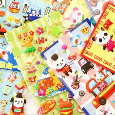 Aliexpress.com : Buy Cute Cartoon Panda 3D Stickers Diary Sticker Scrapbook Decoration PVC Stationery DIY Stickers from Reliable stickers stationery suppliers on House of Novelty    Alibaba Group