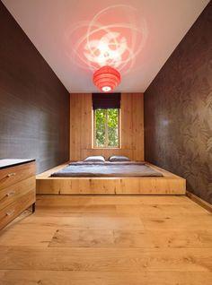 Interior design - Bedroom design and decoration interior design de casas Sunken Bed, Home Interior Design, Interior Architecture, Interior Ideas, Small Bedroom Designs, Design Bedroom, Contemporary Bedroom, Modern Contemporary, Home Decor Inspiration