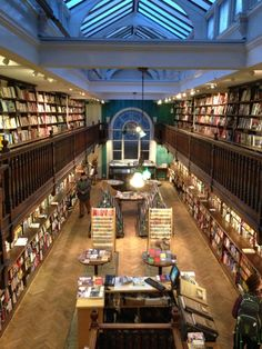 Daunt Books in Marylebone, Greater London