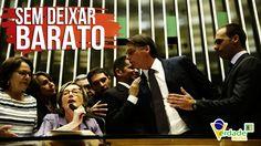 Mais um QUEBRA-PAU entre Bolsonaro e Maria do Rosário