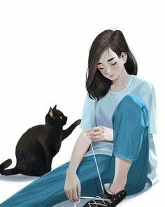 [New] The 10 Best Art Today (with Pictures) - Aesthetic Art, Aesthetic Anime, Arte Tim Burton, Cover Wattpad, Japon Illustration, Dibujos Cute, Digital Art Girl, Cartoon Art Styles, Cute Cartoon Wallpapers