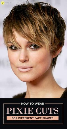 The pixie haircut is a short hairstyle with a twist to it. It is short on the back and sides and longer in the front. Picture it! Doesn't it just seem ...