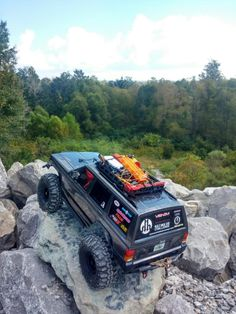 Click the image to open in full size. Jeep Xj, Jeep Truck, Jeep Cherokee 4x4, Axial Rc, Extreme 4x4, Rc Car Bodies, Overland Truck, Jeep Baby, Rc Rock Crawler