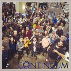 Continuum cast and crew! (via ticklenichols on Instagram)