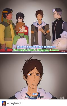 Omfg im so glad someone made this <<< Don't worry, you're not the only one who's thought that Lance.