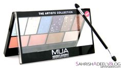 The Artiste Collection by Makeup Academy (MUA) - Review, Swatch